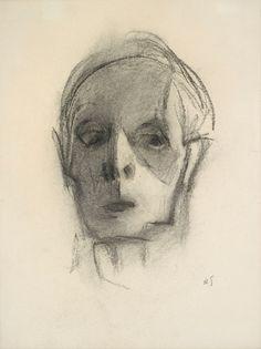 Helene Schjerfbeck, self portrait
