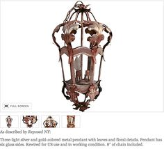 Reposed NY - vintage lighting at One Kings Lane on 9/4!  https://www.onekingslane.com/shop/reposed-ny    www.reposedny.com