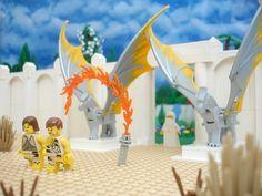 garden of eden cherubim   Lego garden of Eden