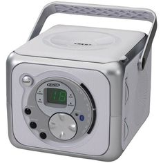 Jensen Portable Bluetooth Music System With Cd Player