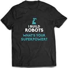 288225f0fb07 Robotics Engineer T-Shirt. Robotics Engineer tee present. Robotics Engineer tshirt  gift idea