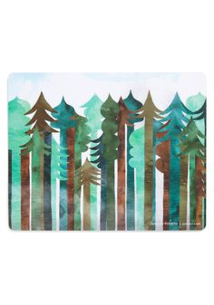 Click and Swag Mouse Pad in Bark. If long days at your desk leave you dreaming of fun and fresh air, plant this mighty mouse pad by Poketo in your office! #green #modcloth