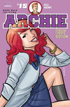 Archie (2015-) #15  For a while after Veronica's departure, no woman was around who could wreck the Jughead/Archie bromance. We all knew that couldn't last forever, right? Meanwhile, the Veronica vs. Cheryl Blossom feud reaches its peak!