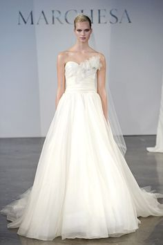 Marchesa wedding dress from the Spring 2014 bridal collection | via junebugweddings.com