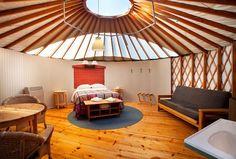 treebones yurt in big sur