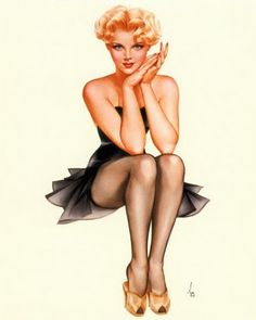 THE CHIC BIZARRE EFFECT: VINTAGE PINUP GIRLS