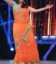 Buy Madhuri Dixit Indian Traditional Bollywood Designer Partywear saree, Designer Saree madhuri-dixit-saree online