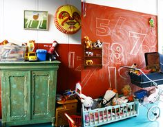 the boo and the boy: Chalkboards in kids' rooms - part 2
