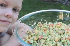 Getting Stuffed: Garden Couscous Salad
