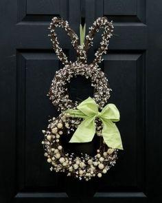 Beautiful Bunny Wreath