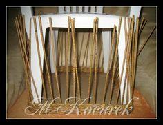 PLETENÍ Z PAPÍRU: 5) Pletení - postupy