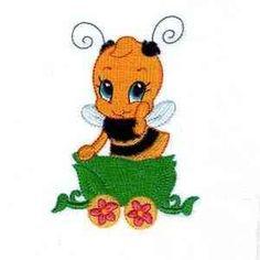 Free Embroidery Design: Bee - I Sew Free