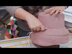 Craft Room Crash: How to Make a Stylish Fedora - YouTube