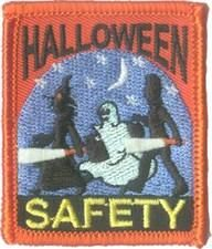 Halloween Safety (Ghost) Fun Patch