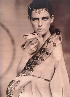 """""""Carneuval""""  W mag march 2002,Stella Tennant by  Paolo Roversi."""