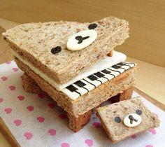 #Rilakkuma #Piano ......COOL!!!!