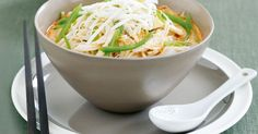 Our Chicken laksa recipe is full of authentic flavour.