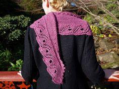 NobleKnits Yarn Shop  - Ysolda Teague Scroll Lace Shawl Knitting Pattern, $6.95 (http://www.nobleknits.com/products/Ysolda-Teague-Scroll-Lace-Shawl-Knitting-Pattern.html)