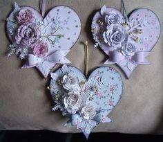 mariecurie fundraising.MDF corazones ... | docrafts.com