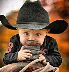 baby and saddle. This just took cuteness to a whole nother level! Future Baby forsure :)