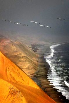 Skeleton Coast,Namibia and Angola