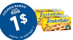 COUPON RABAIS TENDERFLAKE DE 1$