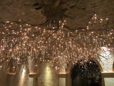Interior Designs, Marvelous How To Make Your Own Chandelier Ideas With Brown Wall And Chandelier: Awesome How To Make Your Own Chandelier Ideas