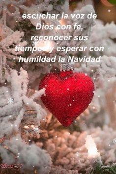 escuchar la voz de Dios con fe, reconocer sus tiempos y esperar con humildad la Navidad