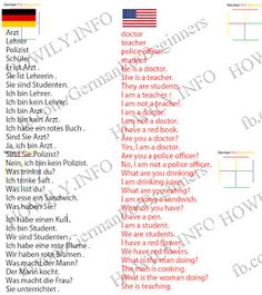 Lektion 11 Alemao Englisch Deutsch Englisch Lernen Deutsch Lesen