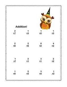 Math-Worksheets-Addition-to-20-Practice-Halloween-CCSSMATHCONTENT1OAC6-2115754 Teaching Resources - TeachersPayTeachers.com