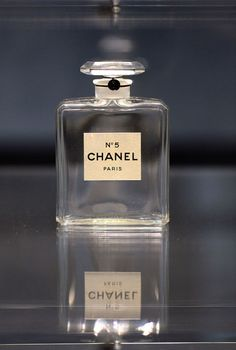 """The number """"five"""" has significance: It's been said that Chanel picked the fifth sample Beaux presented her with, leading the fragrance to be called N°5. Click through for more Chanel facts!"""