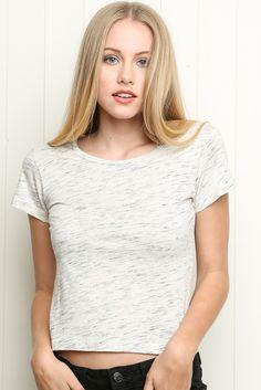 Brandy ♥ Melville | Mason Top - Clothing  follow for more// Pinterest: shesomarie ❅