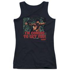 Rambo: I'm Coming Junior Tank Top