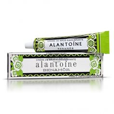 Vintage BENAMOR ALANTOíNE Hand Cream - 40ml - £3.25  This 'Alantoine' hand cream is moisturizing, antiseptic and protective. It leaves the hands soft and supple and has a wonderful citrus scent which is both refreshing and stimulating. Specially useful for dry and harsh skin, and also for removing and smoothing black marks and blemishes.