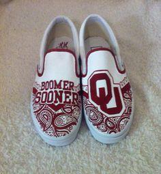 Oklahoma University Sooners Shoes