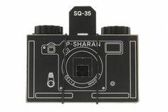 P-Sharan SQ-35 Pinhole – Tienda Lomography (Cámara de cartón)