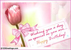Birthday Greeting Cards Messages | ... Birthday Message! Free Wishes eCards, Greeting Cards | 123 Greetings