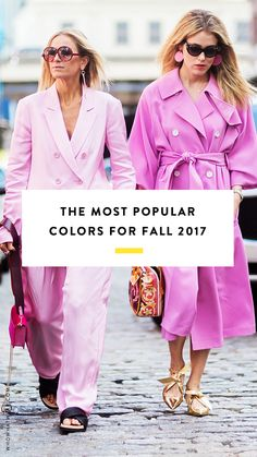 The biggest color trends for fall