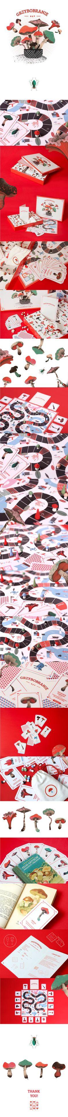 GRZYBOBRANIE - Mushrooming Board Game on Behance