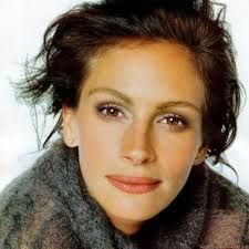 julia roberts - oval face