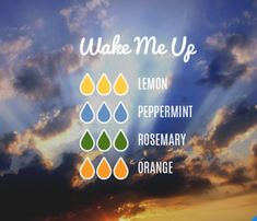 Wake me up diffuser blend