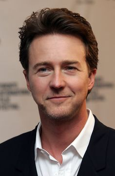 Edward Norton. I have always liked him, his movies too. A very versatile and talented actor. I would recognize his voice anytime. He also has a very high IQ, speaks fluent Japanese and graduated from Yale! Need more????