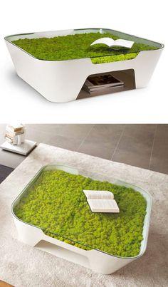 Verde Profilo a Maison 2013 - La Green Field Evolution si veste di colore coffee #table #green #design