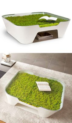 Verde Profilo a Maison 2013 - La Green Field Evolution si veste di colore coffee #table #green #design