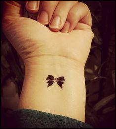 tiny bow tattoos set of 4 temporary tattoos fake tattoos Tattoo Girls, Sister Tattoos, Girl Tattoos, Tattoos For Women, Fake Tattoos, Black Tattoos, Small Tattoos, Bow Tattoos, Rosary Tattoos