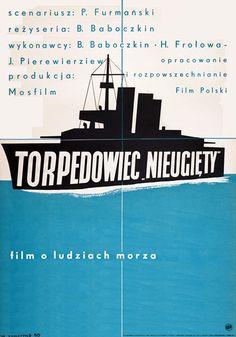 """Wojciech Zamecznik, Torpedowiec """"Nieugiety"""", 1950"""