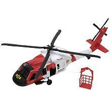 True Heroes Black Hawk Rescue Helicopter by Hasbro. $40.62. Rotor blades. Two emergency responder figurines. Raise and lower a rescue cage. Working winch. Black Hawk to the rescue! Kids will love saving the day with this True Heroes Black Hawk Rescue Helicopter. It features spinning rotor blades, a working winch that can raise and lower a rescue cage, and two emergency responder figurines that can fit inside the copter.