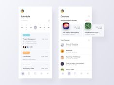 Schedule Manager for Students designed by Bettina Szekany for Ofspace Team. Connect with them on Dribbble; the global community for designers and creative professionals. Design Responsive, App Ui Design, Interface Design, User Interface, Flat Design, Responsive Web, Design Web, Graphic Design, Web Design Mobile