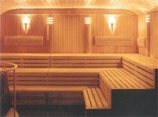 On the Finnish Sauna Modern Saunas, Large Indoor Plants, Spa Studio, Sauna Design, Finnish Sauna, Steam Room, Jacuzzi, Interior Design Living Room, Room Interior