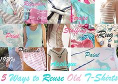 5 Ways To Reuse Old